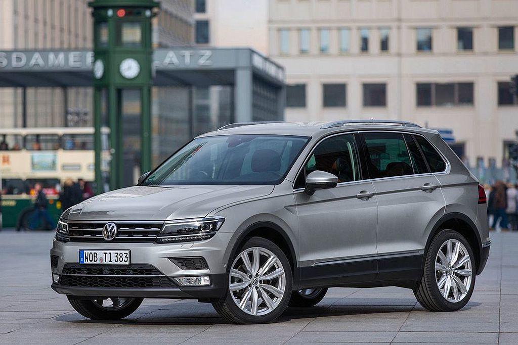 Volkswagen Tiguan 圖/Volkswagen提供