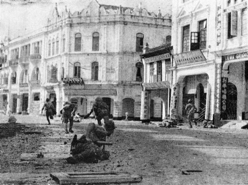大日本帝國發動馬來亞戰役,攻克吉隆坡。 圖/維基共享
