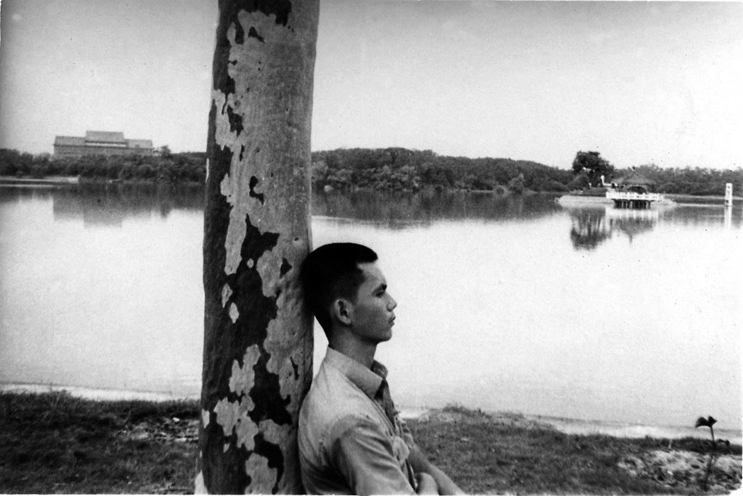 1973年6月,澄清湖露營。