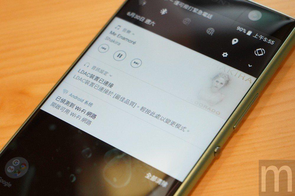 藉由 搭載 LDAC 藍牙 連接 技術, 讓 使用者 即使 透過 藍牙 耳機 連接 也 能 對應 聆聽 Hi-Re ...