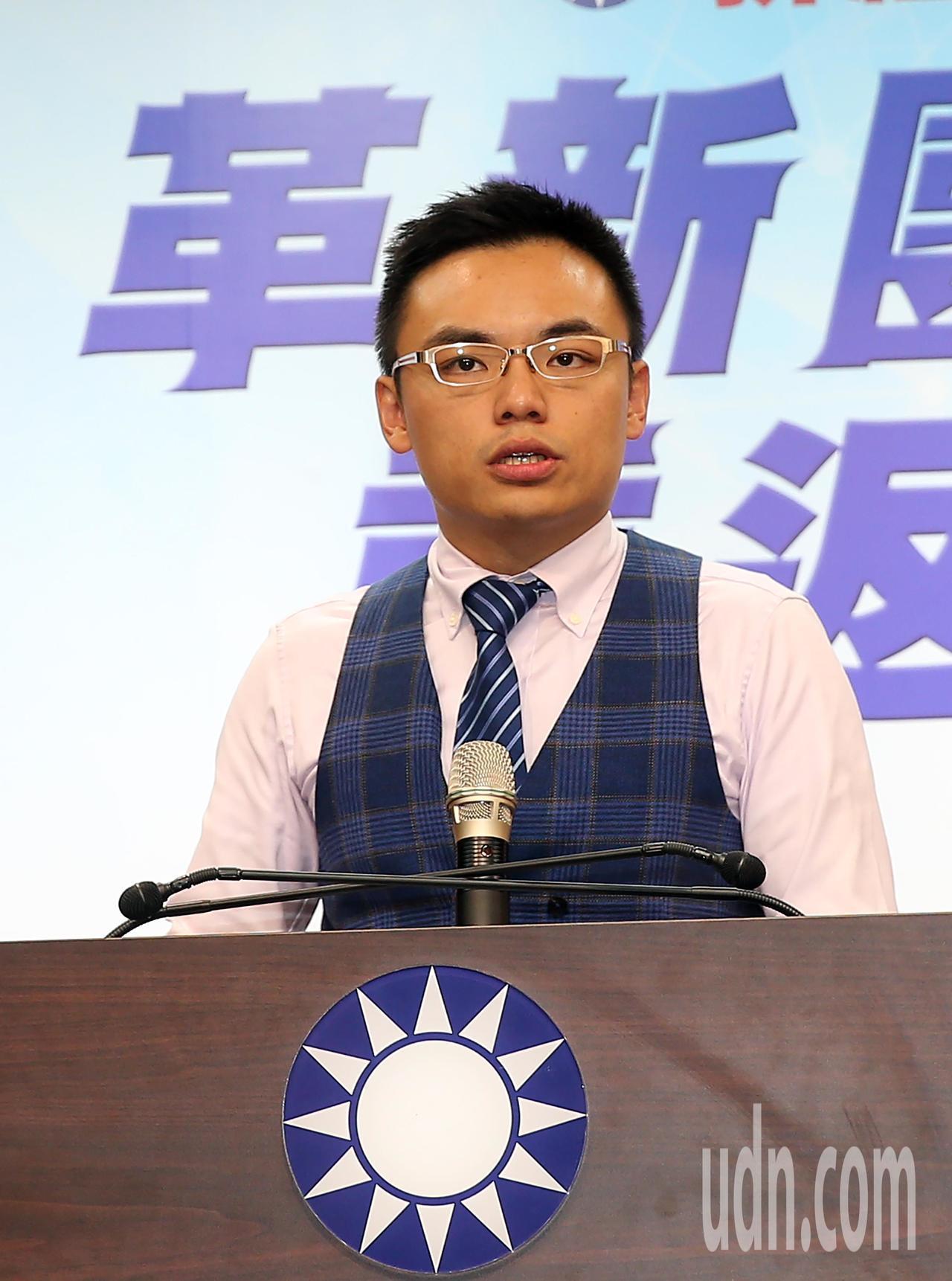 國民黨發言人洪孟楷。 聯合報系資料照/記者曾吉松攝影