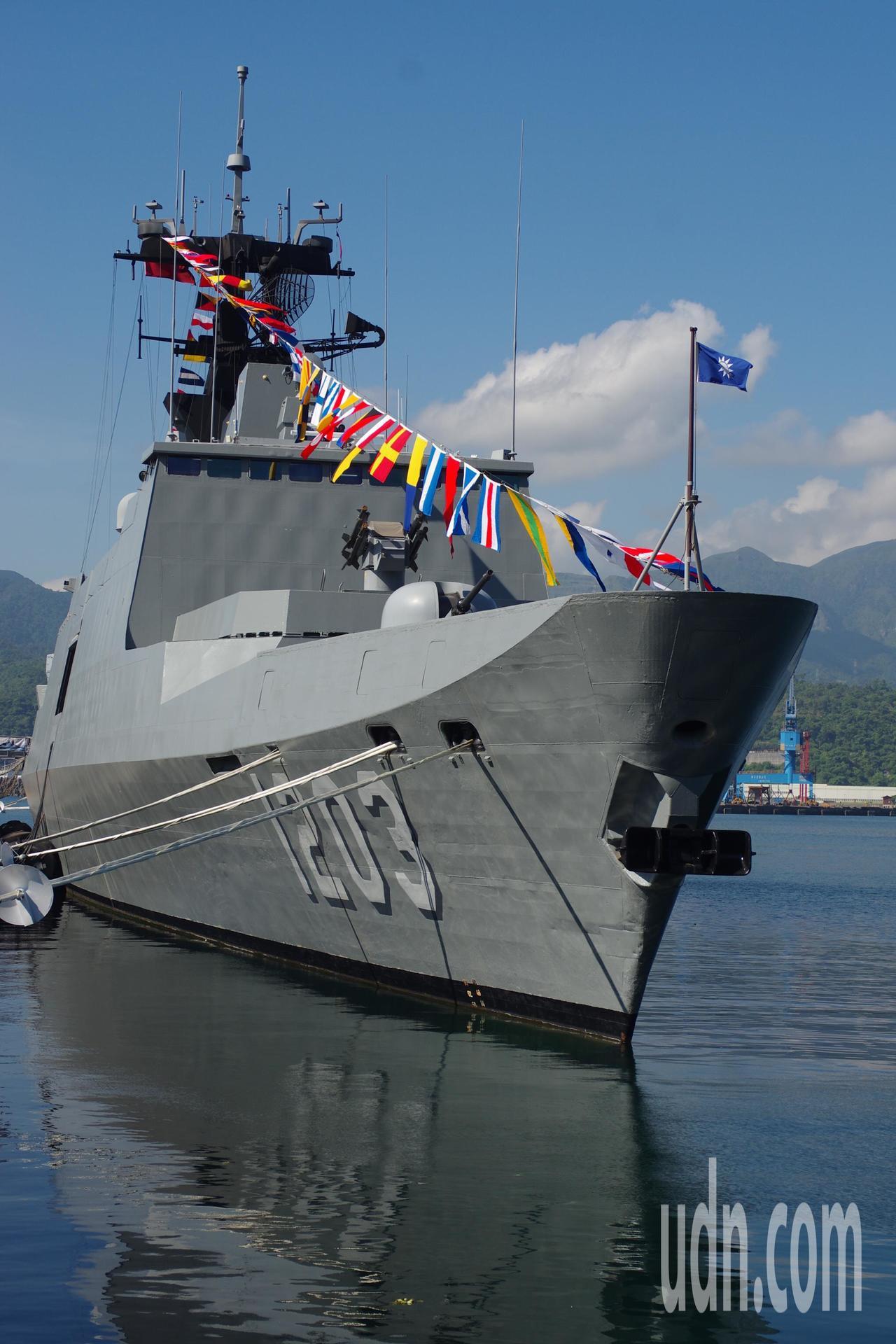 康定級巡防艦「西寧」號。記者程嘉文/攝影