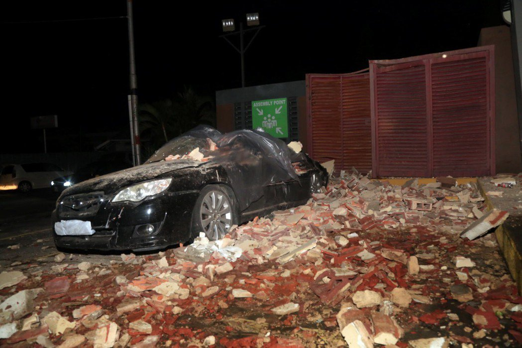 委內瑞拉北海岸21日遭到芮氏規模7.3強烈地震襲擊,鄰近的千里達與托巴哥(Tri...
