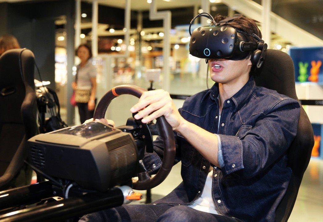 錦榮VR體驗專訪。記者徐兆玄/攝影