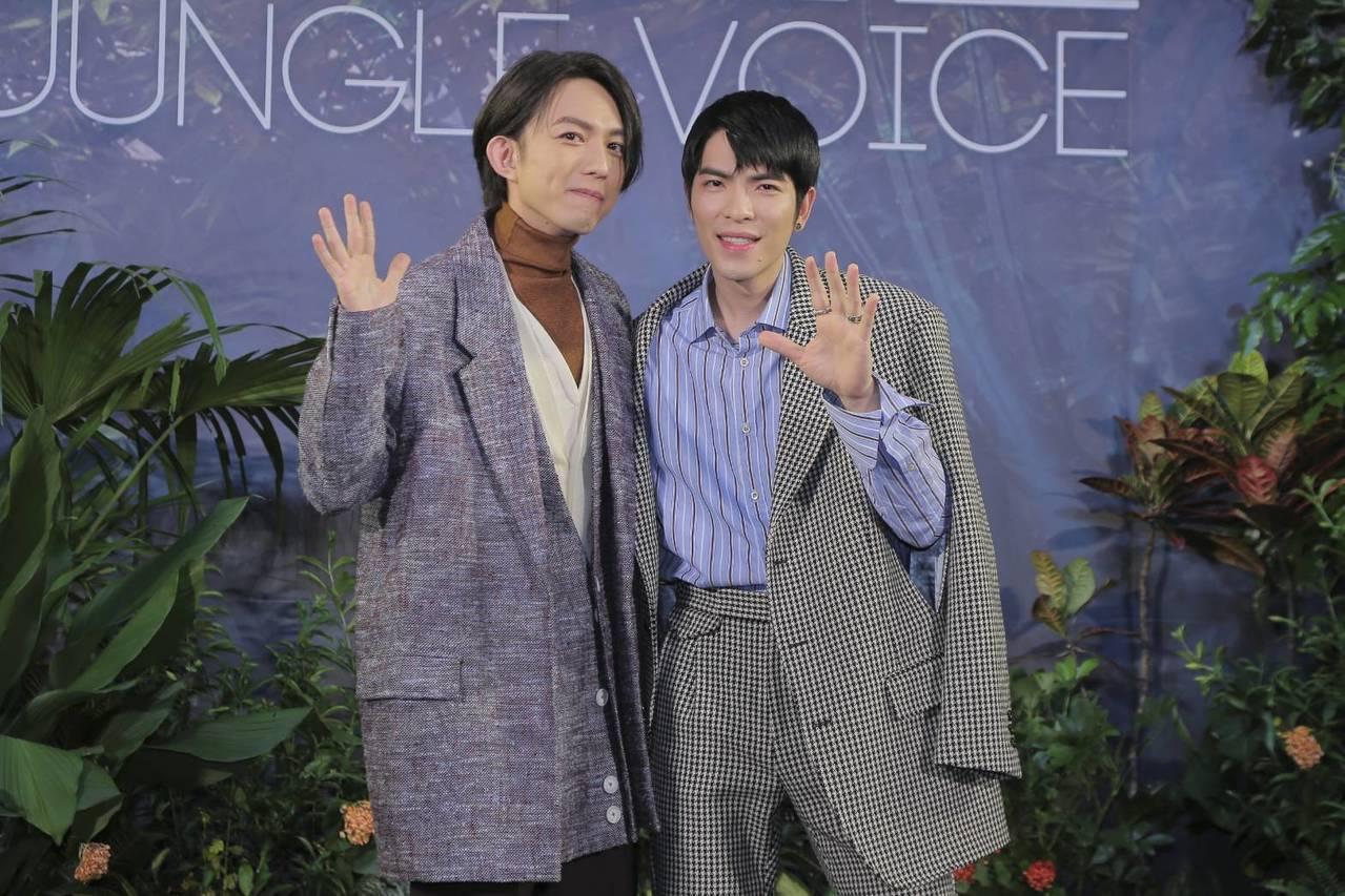 蕭敬騰、林宥嘉當年從素人歌手蛻變成超級巨星,經過這段時間的經驗累積,兩人期盼能夠...