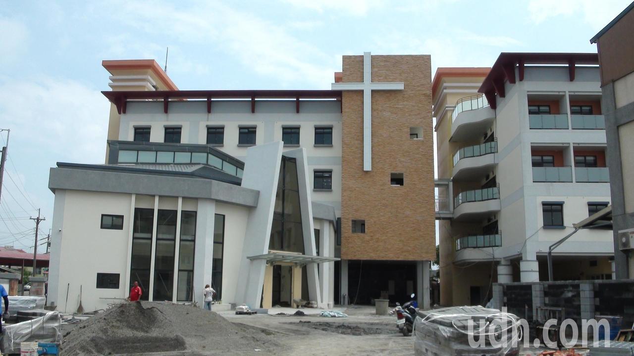 天主教安道基金會籌建結合長照與宗教信仰的安納家園。記者謝恩得/攝影