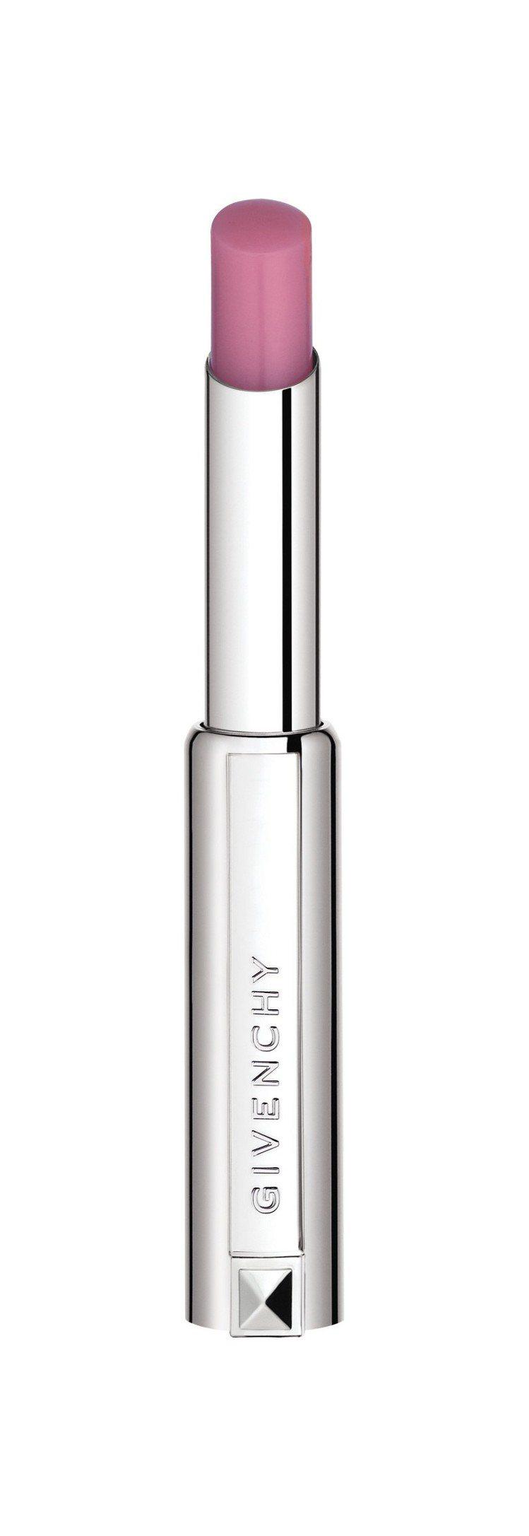 紀梵希香吻誘惑潤色修護美唇膏#02漿果粉。圖/紀梵希提供