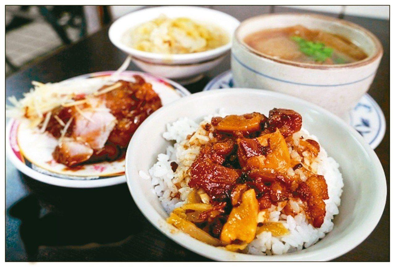 北投矮仔財滷肉飯被James列為北部最厲害滷肉飯前3名之一。 圖/網友Jasmi...