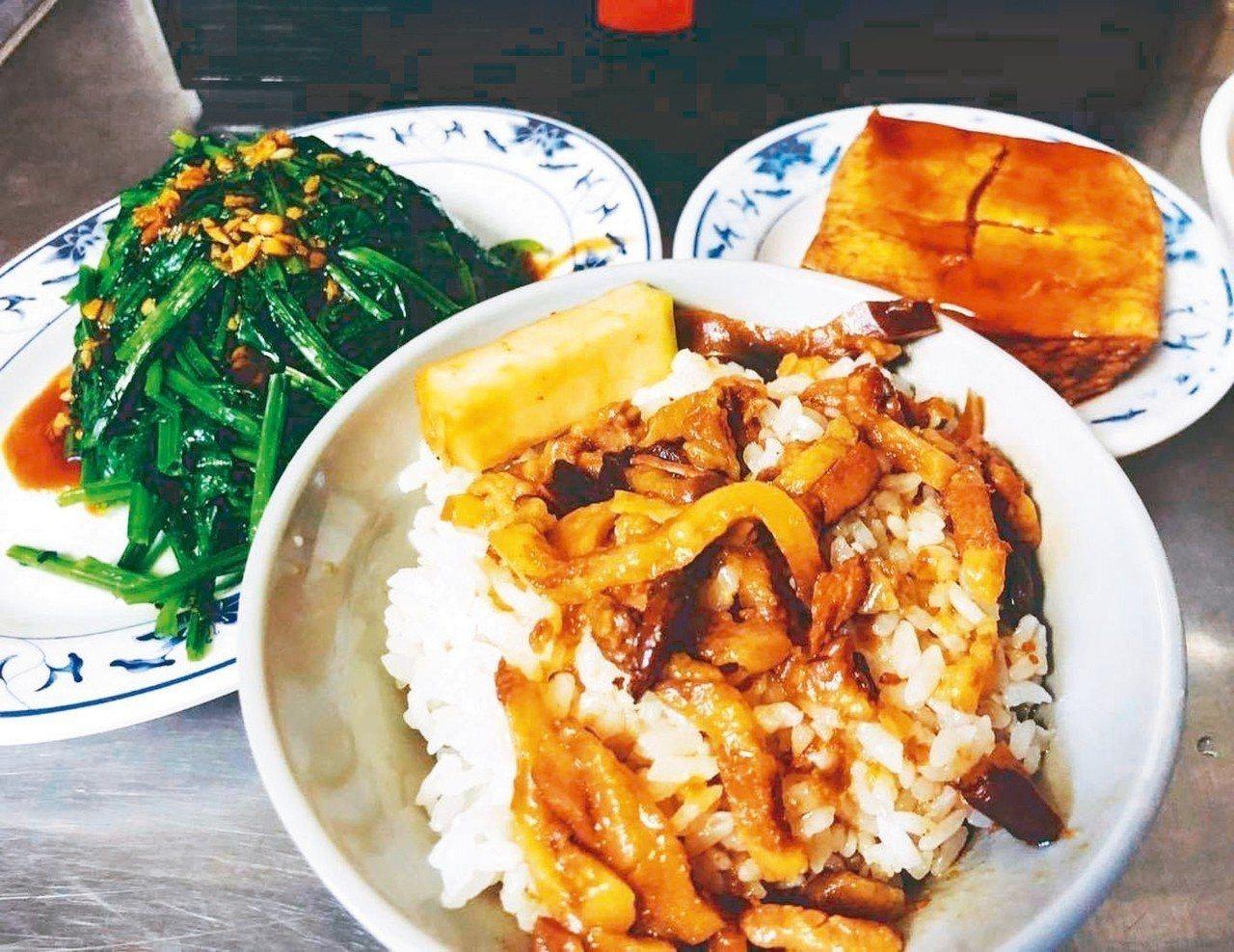 金峰滷肉飯在網路的討論度極高。 圖/網友tohatopotato授權使用