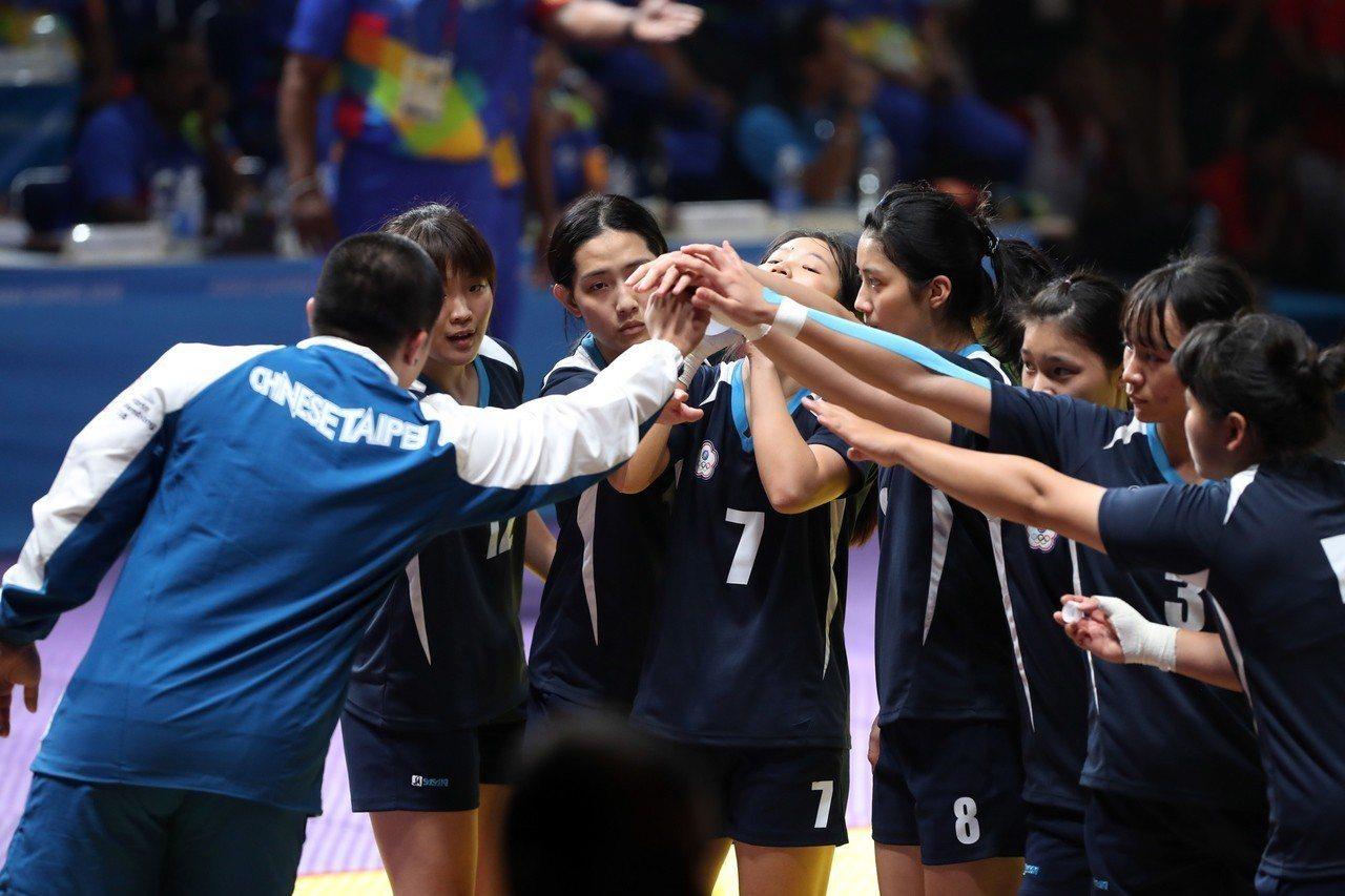 卡巴迪中華女子隊獲銅。 歐新社