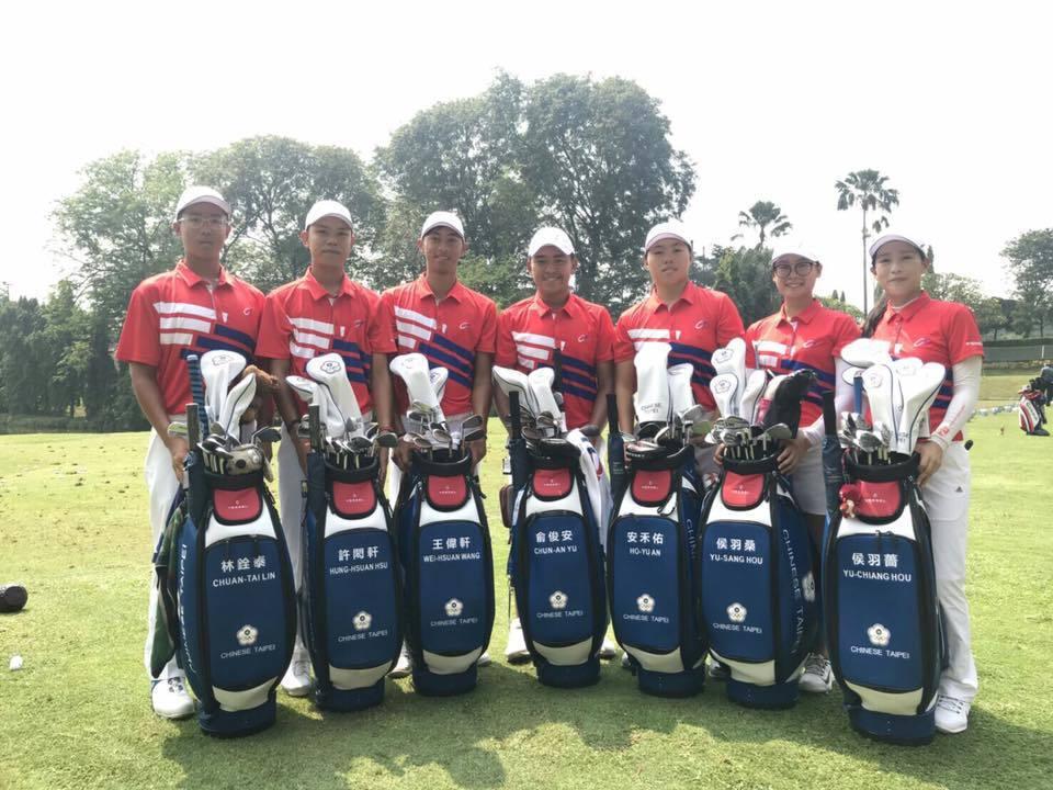 中華高球隊。 擷圖自台北體育總會高爾夫協會臉書