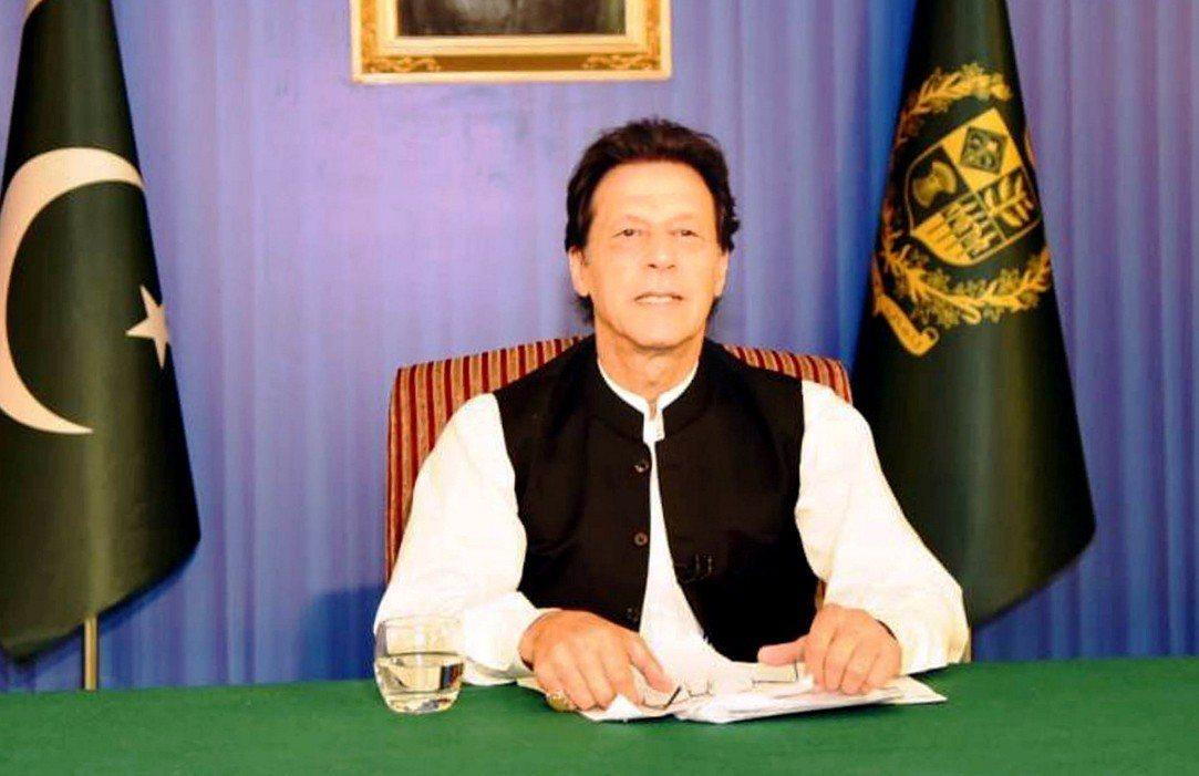 巴基斯坦新任總理伊姆蘭汗(Imran Khan)。 路透社