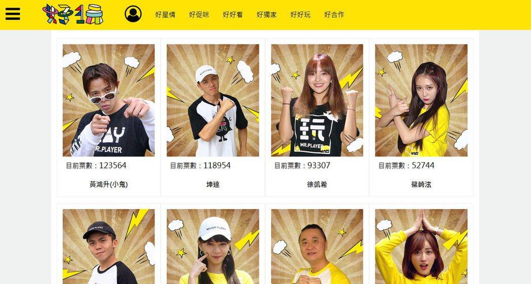 圖/擷自投票活動網頁