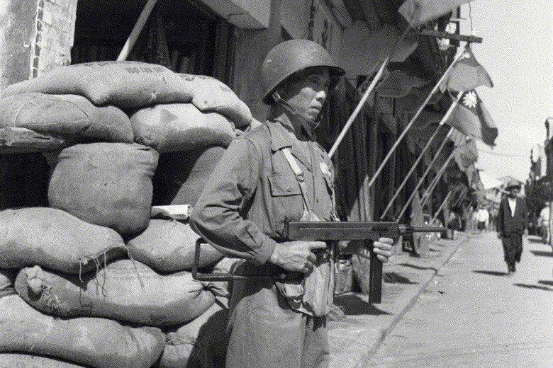 八二三砲戰金門戰況。攝於1958年。 圖/聯合報系資料照