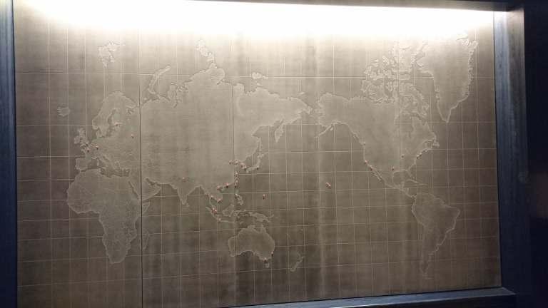 很想用我的飛行,來征服這個世界地圖 圖文來自於:TripPlus