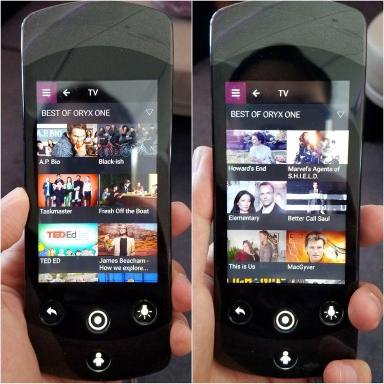 娛樂系統的電視影集選項 圖文來自於:TripPlus
