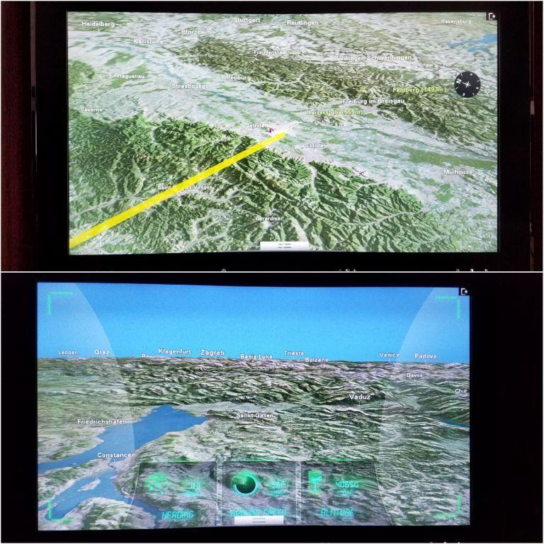 也會顯示目前飛行位置 圖文來自於:TripPlus