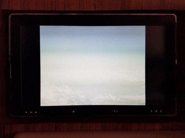 飛機前方的攝影機 圖文來自於:TripPlus