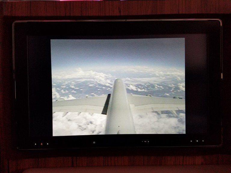 飛機尾翼上的攝影機 圖文來自於:TripPlus