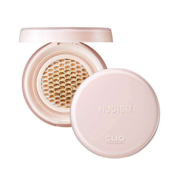 康是美第1及第2名、Tomod's第1名:CLIO珂莉奧極透裸光蜂巢氣墊粉餅,售...