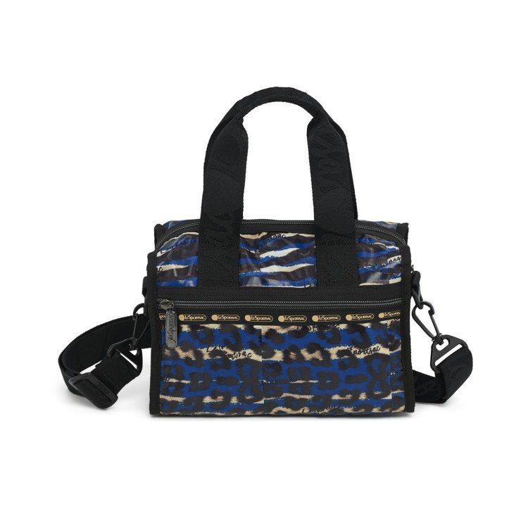 Color Me Zebra熱情斑馬豹紋小斜背包,5,400元。圖/LeSpor...