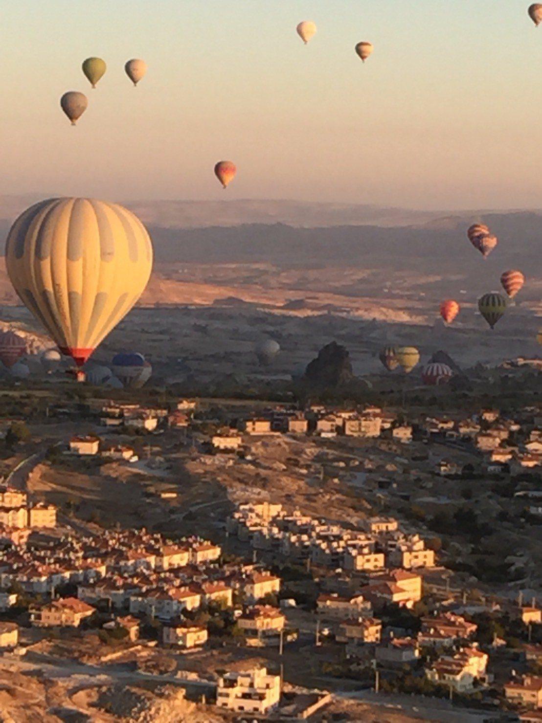 土耳其熱氣球之旅正夯。記者羅建怡/攝影