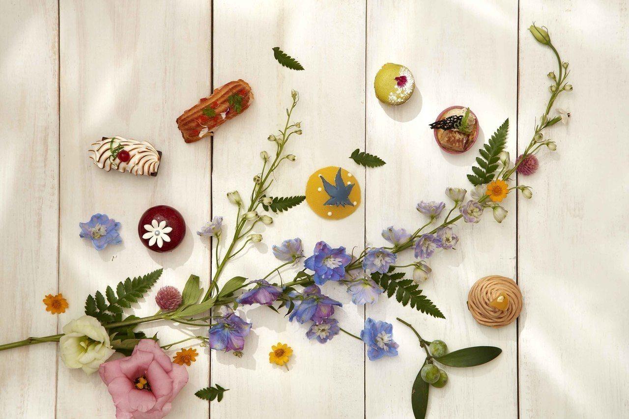 寒舍艾麗將品嘗下午茶營造成都市花園秘境。圖/寒舍艾麗酒店提供