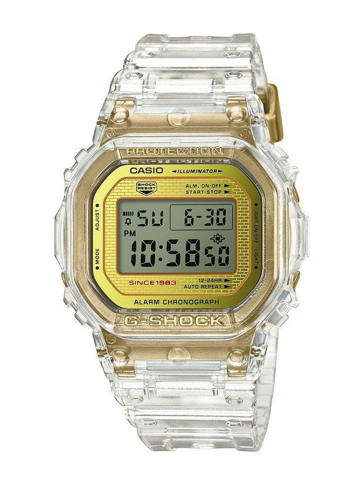 G-Shock將推出35周年限定Glacier Gold系列DW-5035E表款...