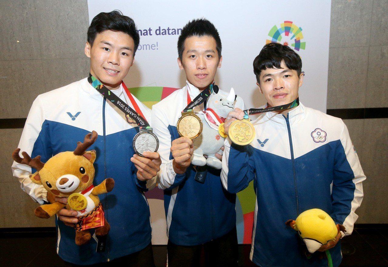 中華體操隊單日3面獎牌進帳,創下歷史新頁。特派記者余承翰/雅加達攝影