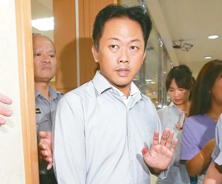 國民黨籍台北市議員林冠勳(中)。 記者高彬原/攝影