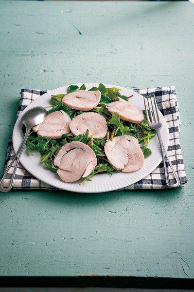運用尋常的雞胸肉,就能做出美味的手工火腿。圖/積木文化提供