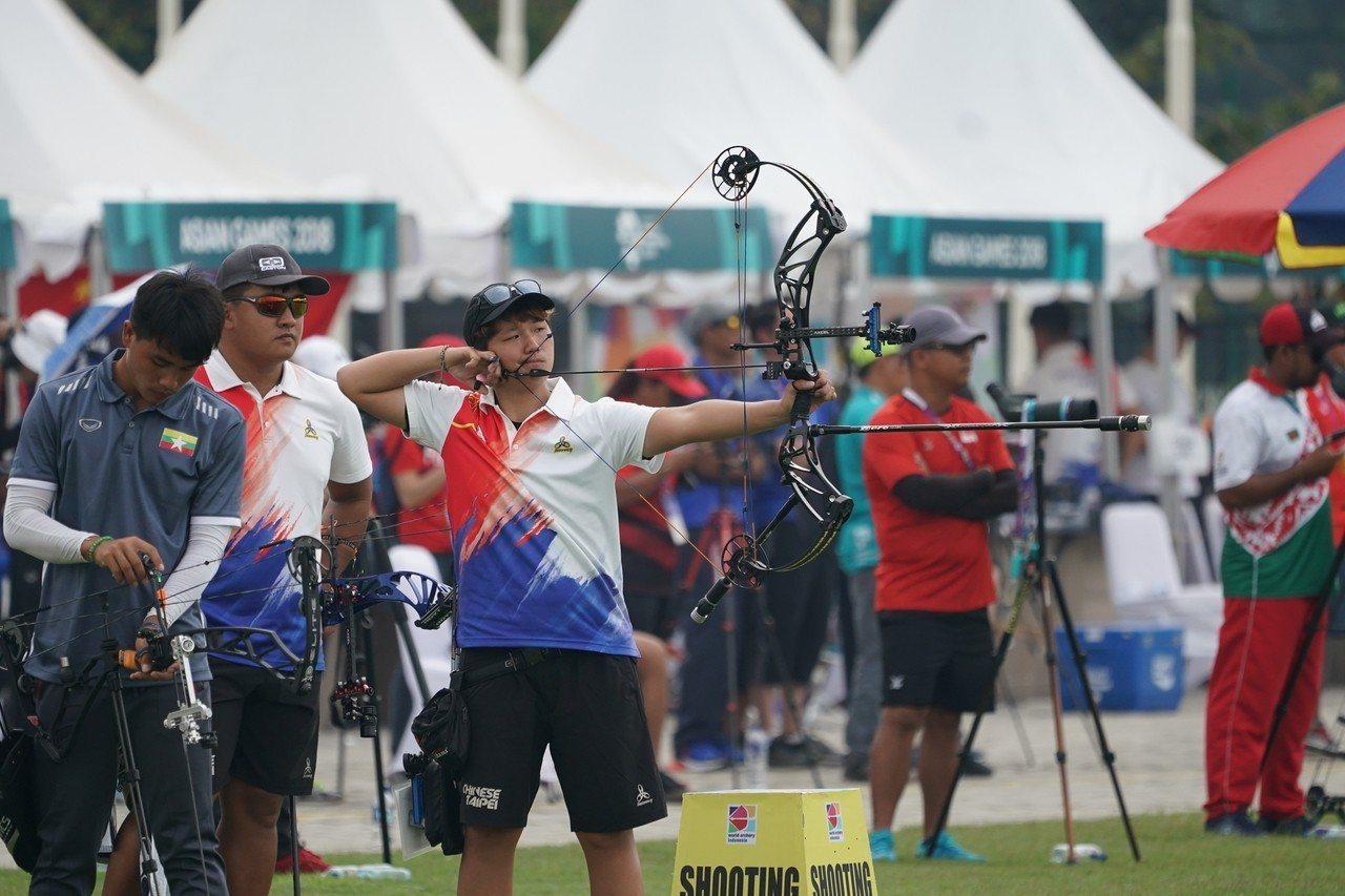 我國選手陳怡瑄。 圖/中華奧會提供