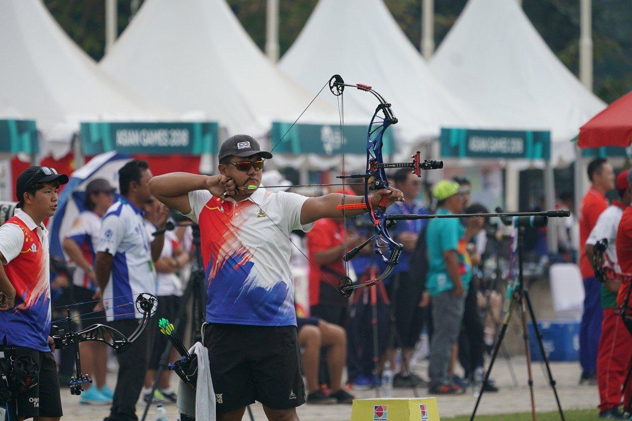 我國選手潘宇平。 圖/中華奧會提供