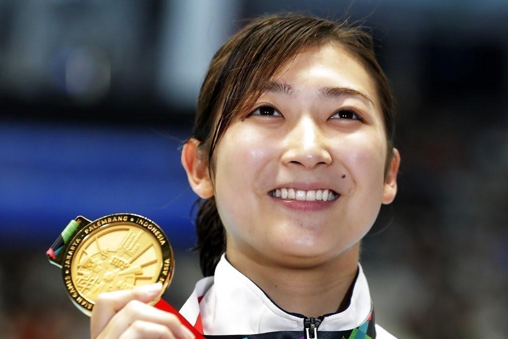 日本18歲游泳女將池江璃花子拿下個人在本屆亞運的第6面金牌,改寫日本亞運紀錄。 ...