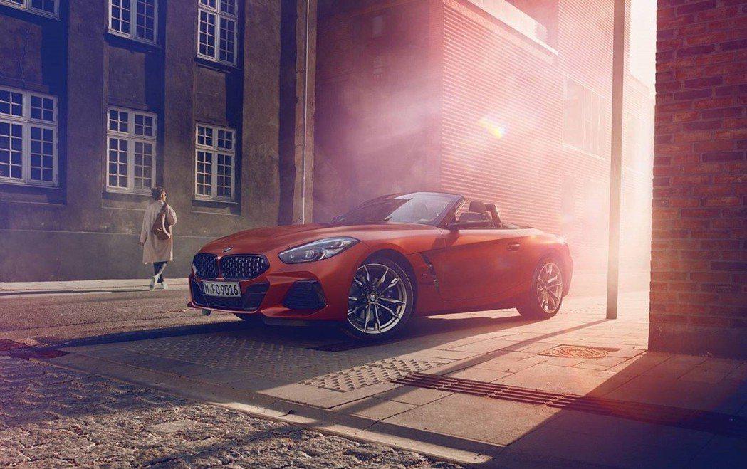 新世代BMW Z4(G29)。 摘自BMW