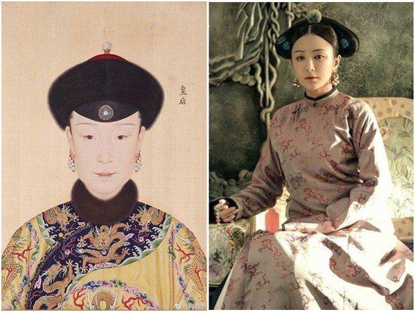 富察皇后。 圖片來源/翻攝自微博