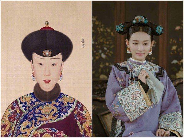 慶嬪。 圖片來源/翻攝自微博