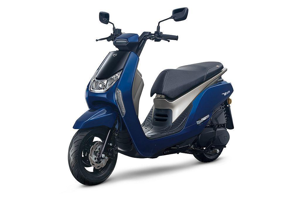 三陽7月推出的Vega 125新車款,除有相當前衛的外型設計,可選的5種車色也相...