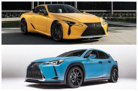 目標成為圓石灘吸睛王 亮彩繽紛的Lexus LC與UX夠格嗎?