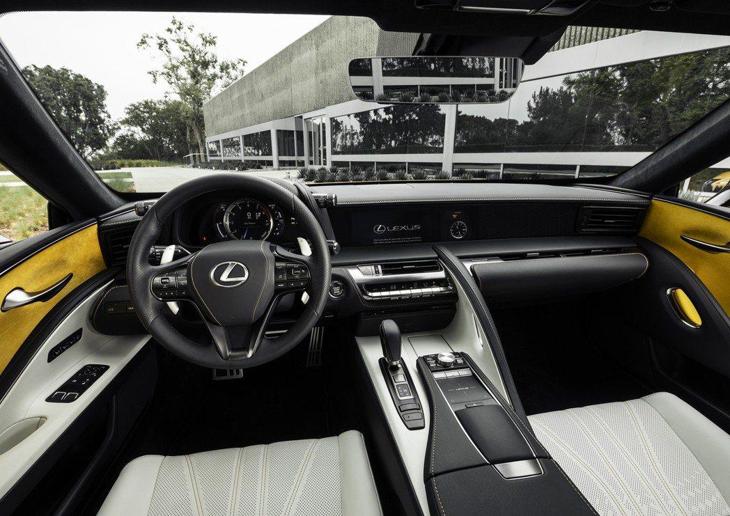 LC 500 Inspiration Concept內裝。 摘自Lexus