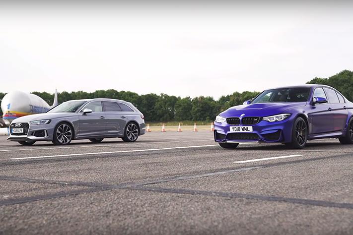 BMW M3 CS對上Audi RS4!四驅真的比後驅強嗎?