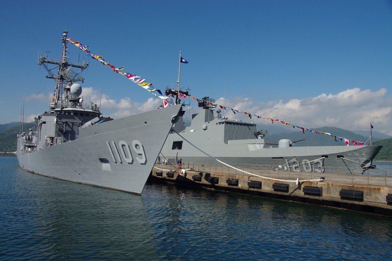 海軍蘇澳中正基地開放活動、因大雨順延一周。圖/海軍提供
