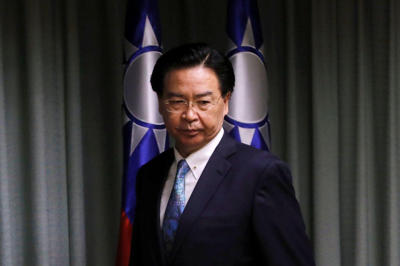 吳釗燮表示不擔心台灣會被美國拿來做為協商的籌碼。路透