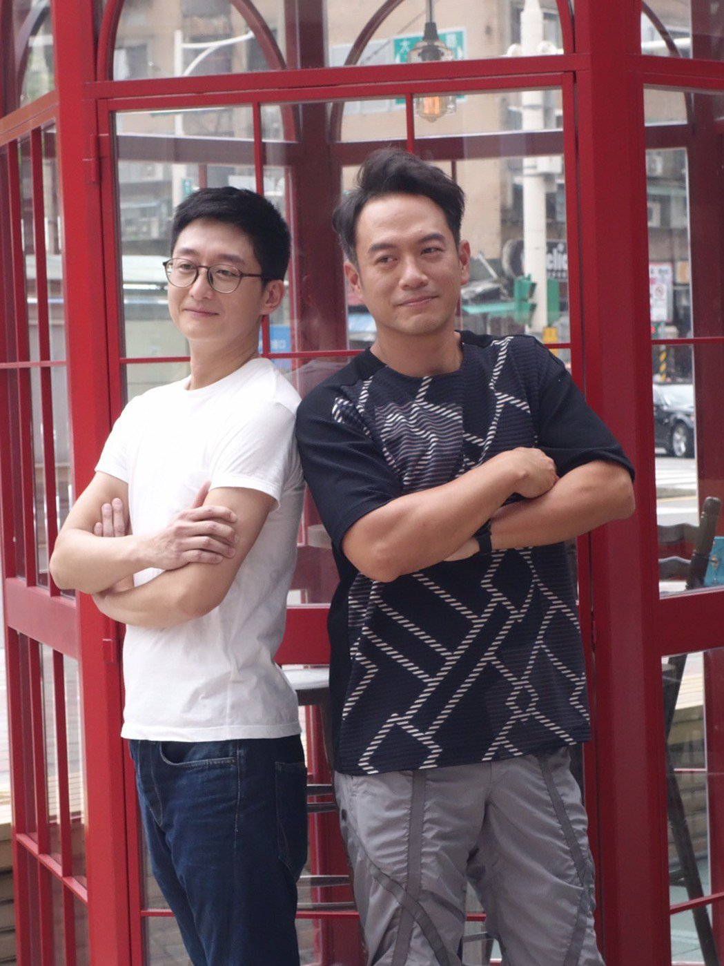 柯宇綸(左)、張翰相隔27 年再合作。圖/公視提供