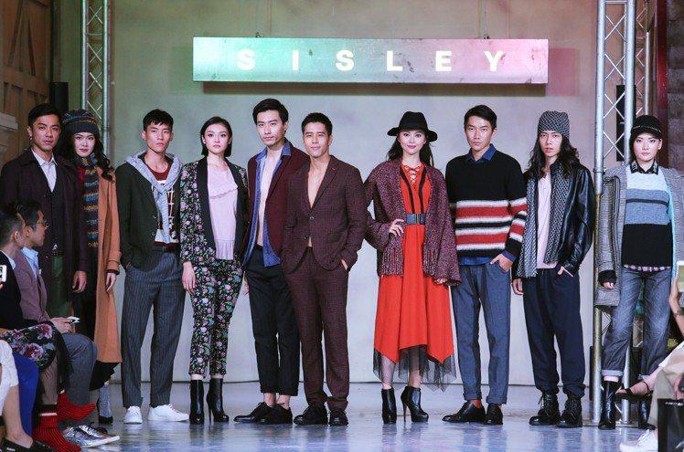 胡宇威擔任Sisley秋冬發表嘉賓,壓軸走秀。圖/記者徐兆玄攝影