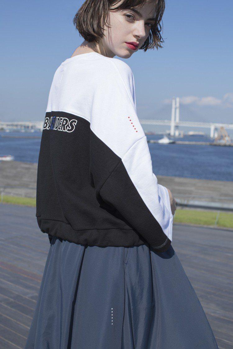 Lee首度把Urban Riders系列加入女裝,利用印滿標誌的條紋、搶眼的圖案...