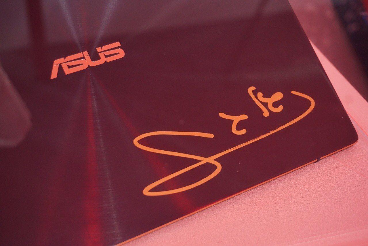 ASUS ZenFashion Bar快閃店現場還展示了ZenBook系列大使G...