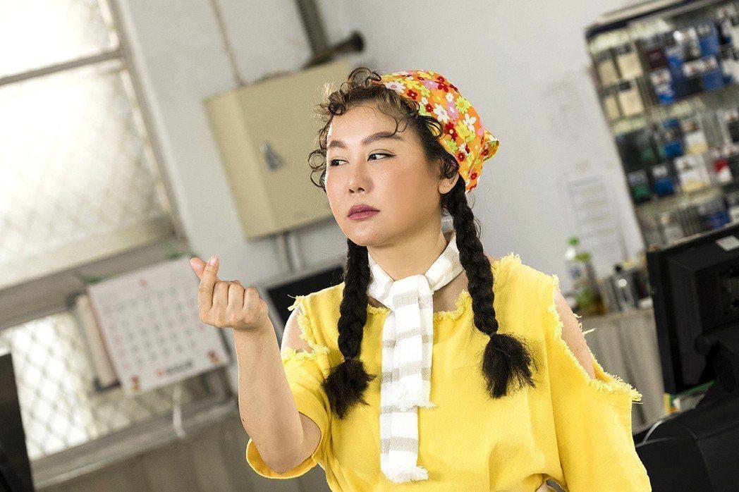 藍心湄客串「女兵日記」收視衝高。圖/TVBS提供