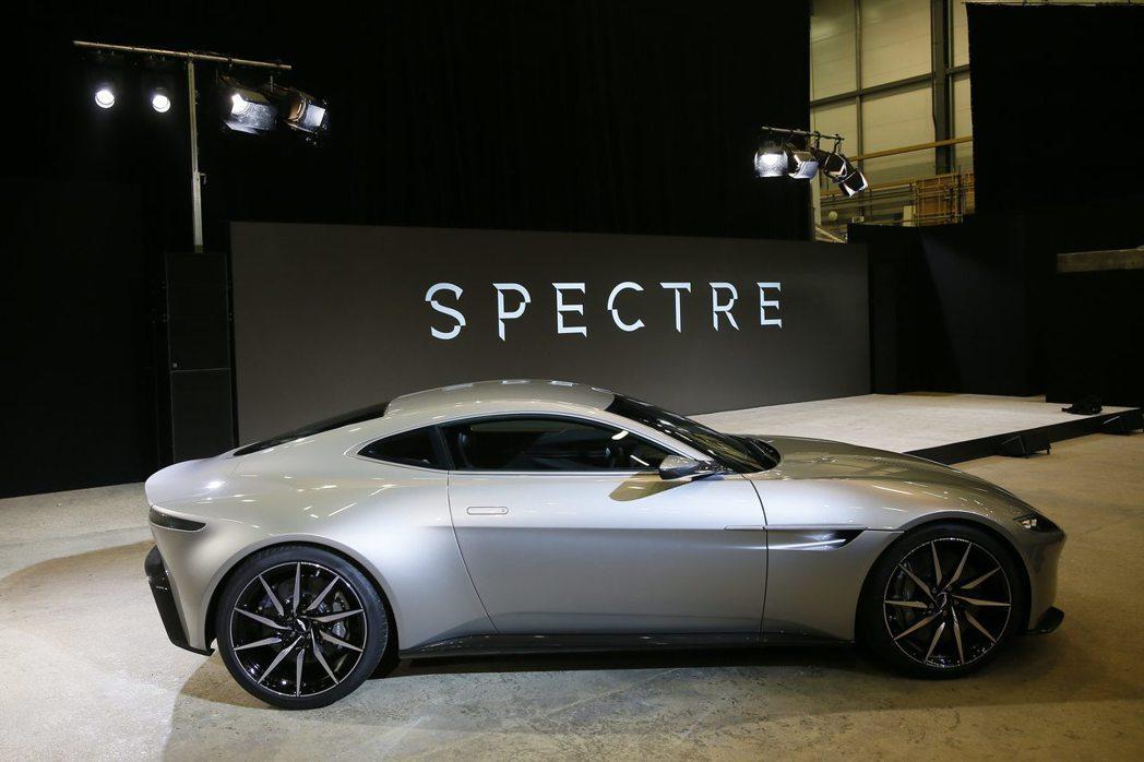 每一集007影片都會有名車等大品牌置入,帶來大筆預算。圖/路透資料照片