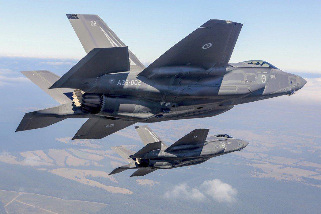 F-35被視為美國軍事技術的核心。(路透)